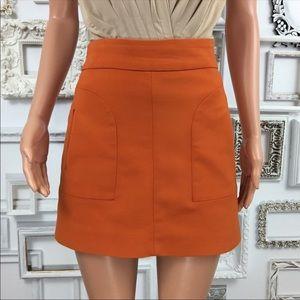 Zara mod style mini skirt